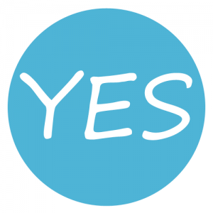 Begin with Yes logo